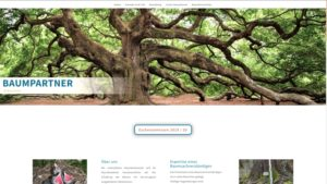 Baumpartner - Website-Relaunch by zacweb.net